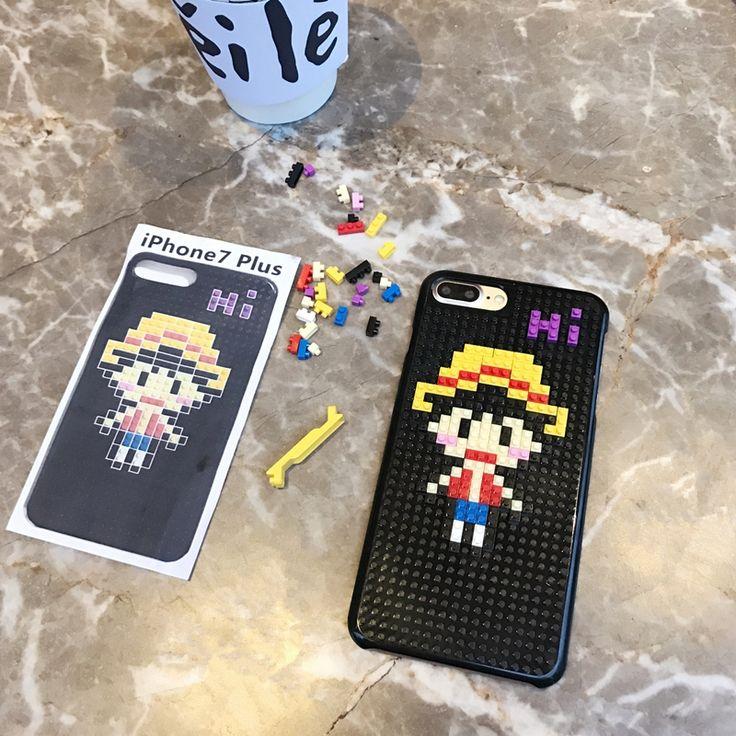 Luff Building Blocks Lego Boots Phone Case for iPhone 6 6S 6plus 6s plus 7Plus Samsung S7 Edge HUAWEI P10plus HUAWEI P10 //Price: $9.95 & FREE Shipping //     #animefans #otakulife #onepiece #animegirls #animefig