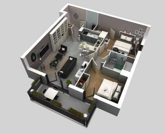 Les 29 meilleures images propos de planos sur pinterest for Voir ma maison en 3d