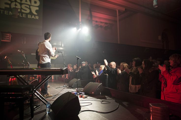 A standing ovation at TradFest Temple Bar 2015 www.templebartrad.com