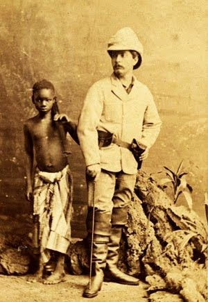 """David Livingstone (1813–1873) Scottish Congregationalist pioneer medical missionary with the London Missionary Society & explorer in Africa. His 1871 meeting with H. M. Stanley gave rise to the popular quotation """"Dr. Livingstone, I presume?"""" Livingstone was one of the first Westerners to make a transcontinental journey across Africa, Luanda on the Atlantic to Quelimane on the Indian Ocean near the mouth of the Zambezi, in 1854–56. He discovered many geographical features incuding Victoria…"""