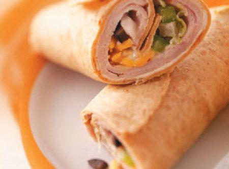 Speedy Lunch Wraps Recipe