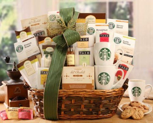 Starbucks Spectacular Gift Basket « Holiday Adds