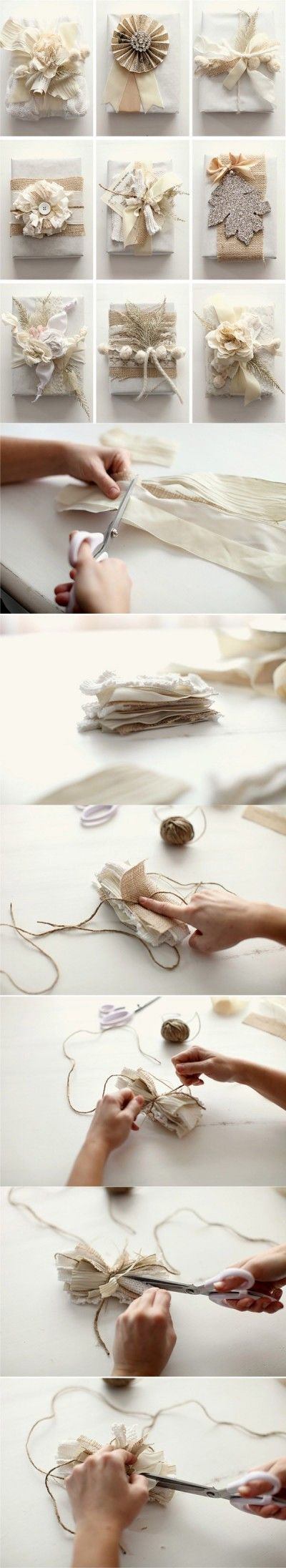 How To Make Cool Gift Package With Recycled Cloth Step By Step Diy Tutorial Instructions / How To Instructions