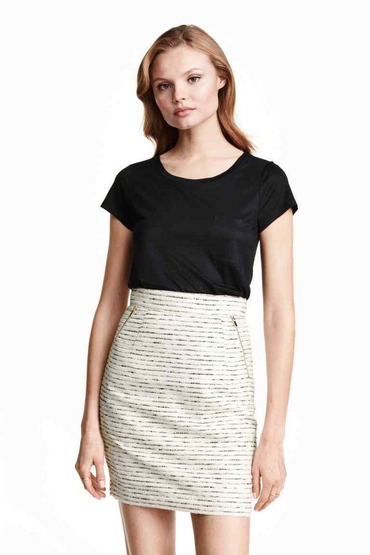 Falda de tubo con textura | H&M
