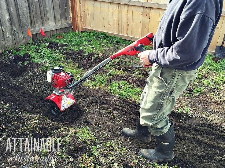 how to till a garden without a tiller
