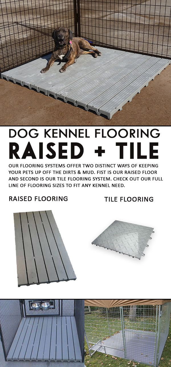 For The Dog Owner Who Has Sanitation And Comfort For Their Dogs In Mind,  Kennel