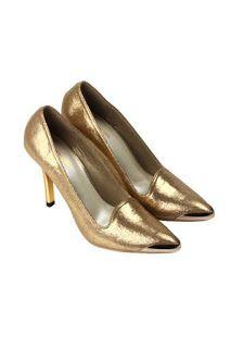 Jual sepatu wanita murah dan berkualitas: CLAYMORE High Heels Claymore MZ - 22 Gold