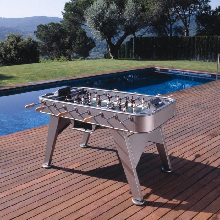 RS2 Stainless Steel Outdoor Table Football