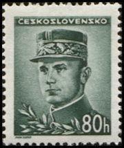 Znaczek: Milan Rastislav Štefánik (Czechosłowacja) (Portraits) Mi:CS 463,Sn:CS 302,Yt:CS 406,AFA:CS 319,POF:CS 416