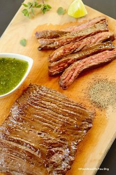 How to cook skirt steak in 4 quick steps, and have it come out tender.