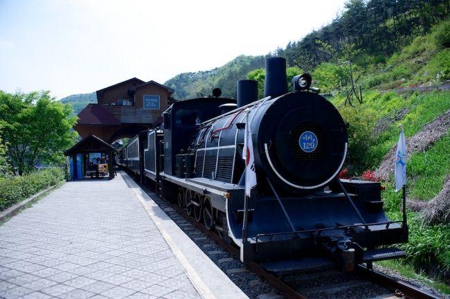 Seomjin River Train Village