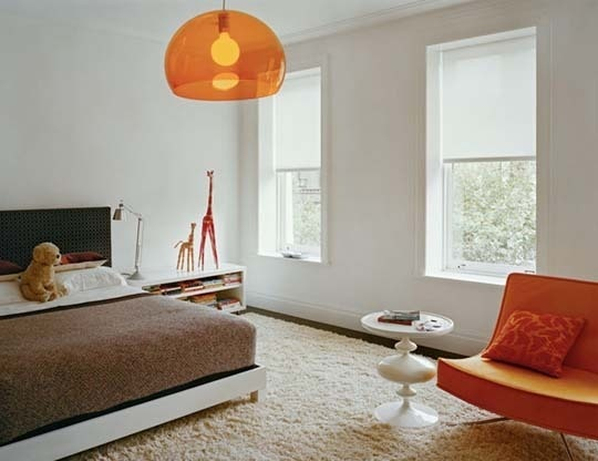 The Perfect Pop Of Color From A Kartell Fly Suspension