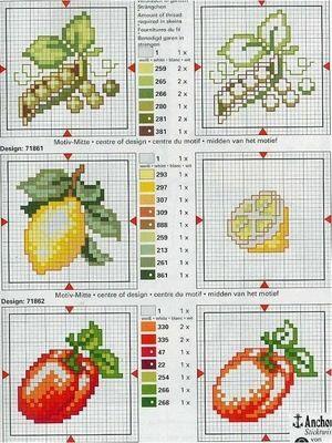 Gallery.ru / Фото #100 - frutas e verduras - risau