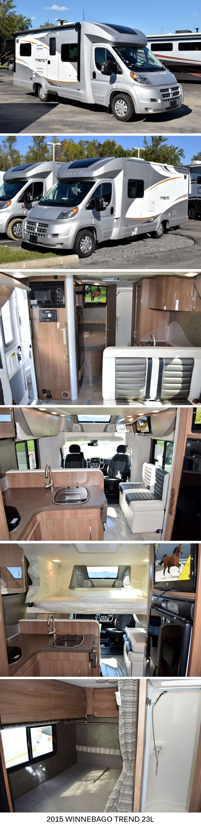 2015 Winnebago Trend 623L | Class C Motorhome                                                                                                                                                      Mais