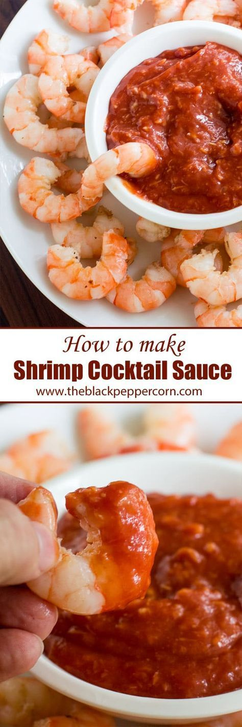 Shrimp Cocktail Sauce Recipe Seafood Easy Classic - How to make cocktail sauce for shrimp with this easy recipe. Homemade and copycat to the Heinz seafood cocktail sauce. Ketchup, horseradish and lemon for dipping.
