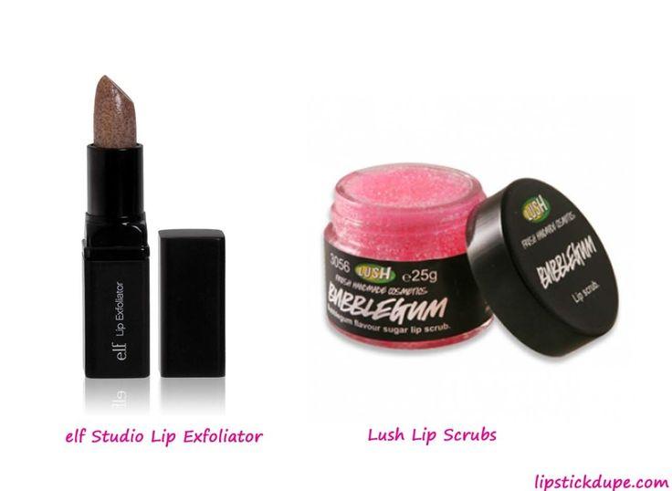 Lush Lip Scrubs Dupe elf Studio Lip Exfoliator www.lipstickdupe.com