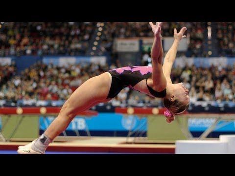 Trampoline Worlds 2011 Birmingham - Tumbling & Double Mini, Women & Men - We are Gymnastics! - YouTube Holy cow!!