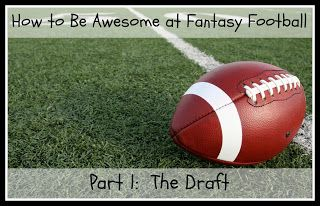 A beginner's take on drafting for fantasy football and learning the rules of the game.