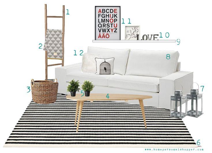 DECORACION.FACILISIMO.COM - Opciones para una decoración nórdica. 2-Manta Remix Blanket Grey de ferm LIVING: http://www.ottoyanna.com/manta/890-manta-remix-blanket-grey-de-ferm-living.html 6-Alfombra Lisa Large Black Vanilla de Pappelina: http://www.ottoyanna.com/alfombra/830-alfombra-lisa-large-pappelina.html