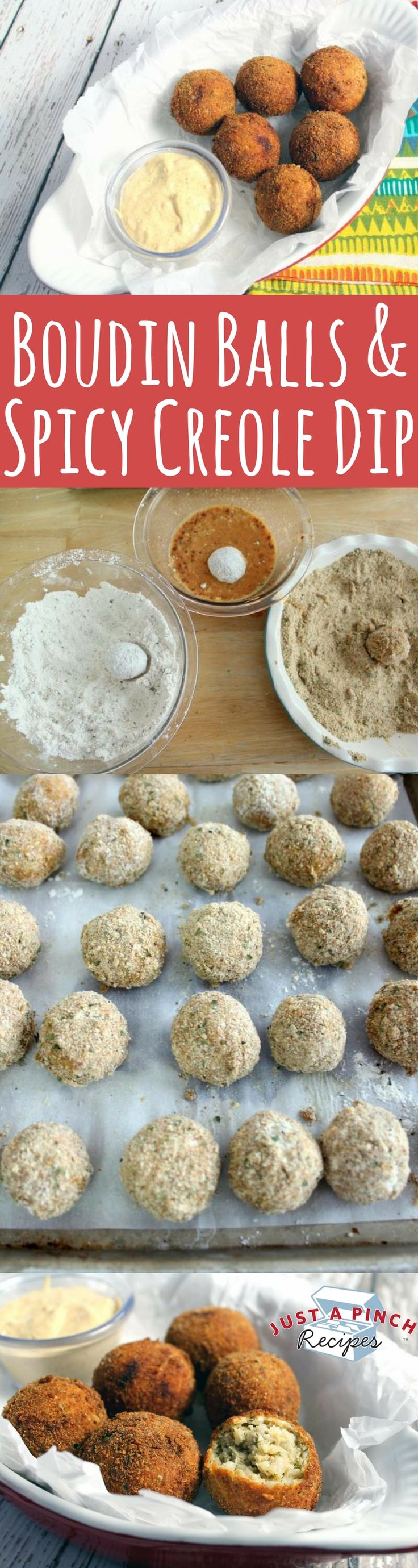 When you bite into one of the boudin balls, the outside has a bit of spice with a crispy texture. The inside is soft with a savory pork flavor and a hint of garlic. The dipping sauce is tart and adds quite a kick of spice.