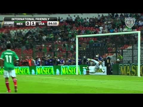 MNT vs. Mexico: Tim Howard Saves - Aug. 15, 2012 #saviorbetweenthepipes