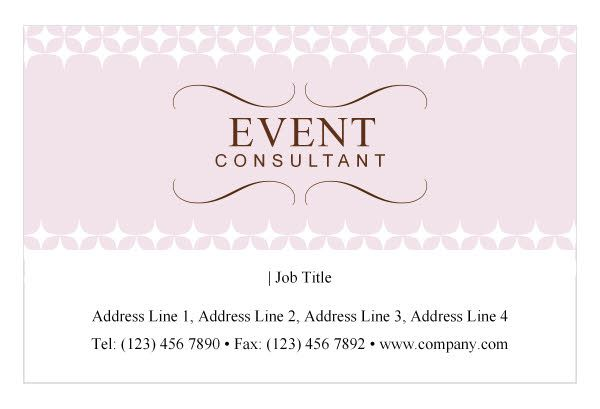 Event planner business card idea quotland the jobquot design for Event planner business card