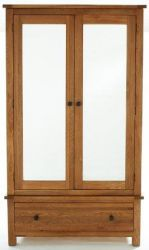 Yoke Oak Large Mirrored 2 door wardrobe http://solidwoodfurniture.co/product-details-oak-furnitures-2607-yoke-oak-large-mirrored-door-wardrobe.html