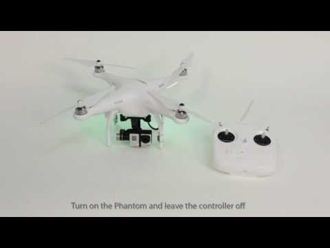 How to bind your controller to your Phantom 2 and Vision - YouTube