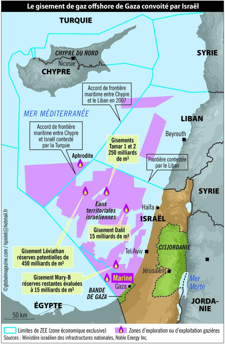 Le gaz de Méditerranée, source de conflits - GLOBAL magazine