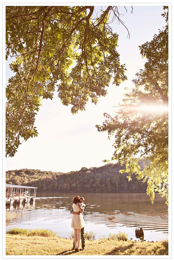 Cute pre-wedding photo (from http://www.100layercake.com/blog/category/diy-wedding/)