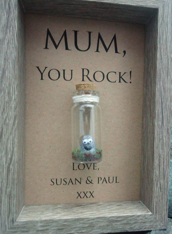 Mother's Day gift ideas from undertheblossomtree.com  A quirky little keepsake for mum! Option to be personalised