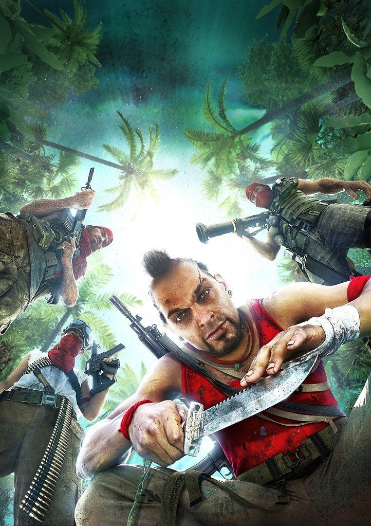 Far Cry 3 Poster Far Cry 3 Crying Video Game Posters