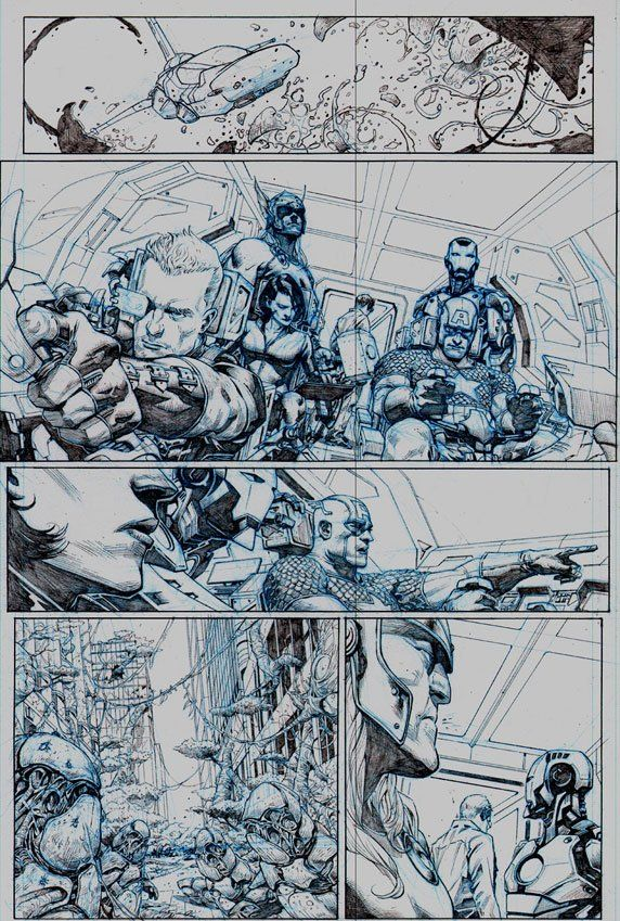 1st Look: AVENGERS NOW! #1 JEROME OPEÑA Pages