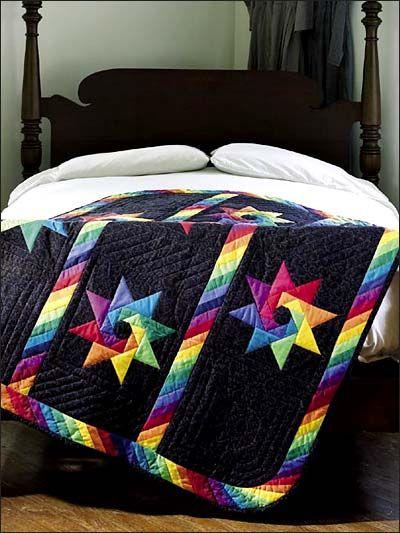245 Best Rainbow Quilts Images On Pinterest