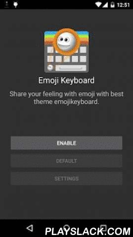 Emoji Keyboard- ColorFul Emoji  Android App - playslack.com ,  DescriptionThis smart emoji keyboard working fine and intelligent craft your text messages in text messages other social chat Applications.- Huge collections of color emoji, emoticons, and smileys for social apps- share your emotion to your friends and family.- smilies support all android and other OS devices.- easily input various kind of smileys and emoji, text faces, emoticons.- It is an simple style white keyboard that…