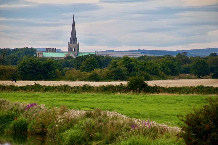 Chichester Cathedral from the Canal