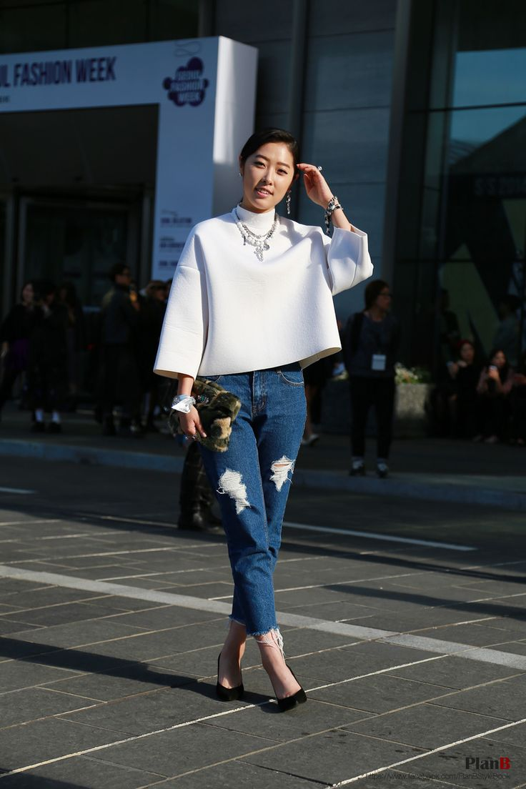 2014 S S Seoul Fashion Week Street Style