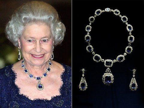 QUEEN ELIZABETH II Luxury Royal NECKLACE-British Crown Jewels-The Windsor