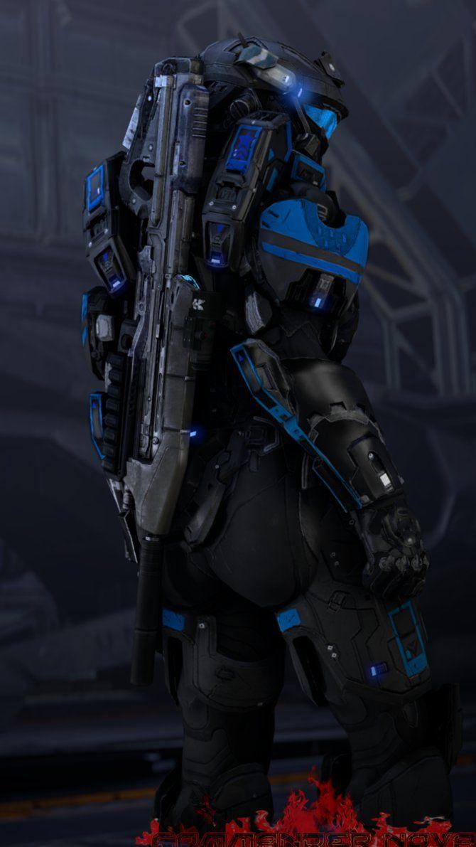 Fanart: Spartan I-010 Shadow... by CommanderNova702