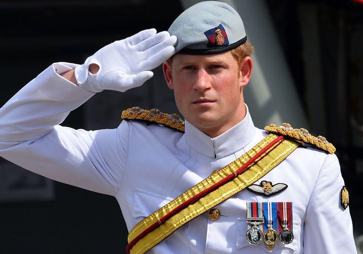 Nach mehr als zehn Jahren hat Prinz Harry seine Zeit bei den britischen Streitkräften offiziell been... - Bereitgestellt von AFP