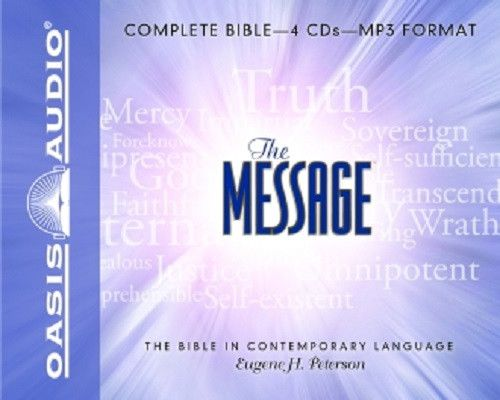 The Message Bible By Eugene H. Peterson MP3