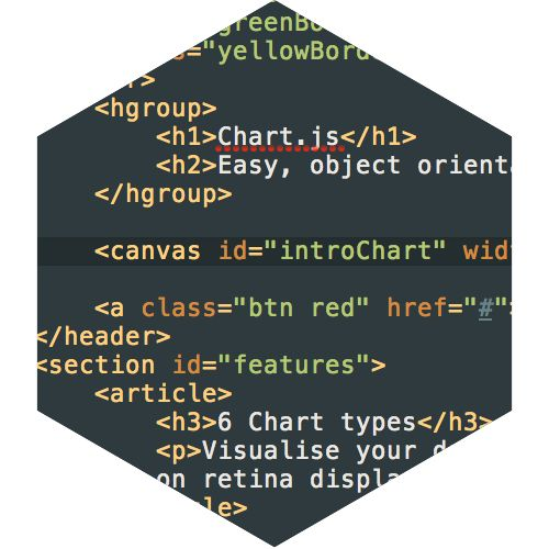 Easy, object oriented client side graphs for designers and developers
