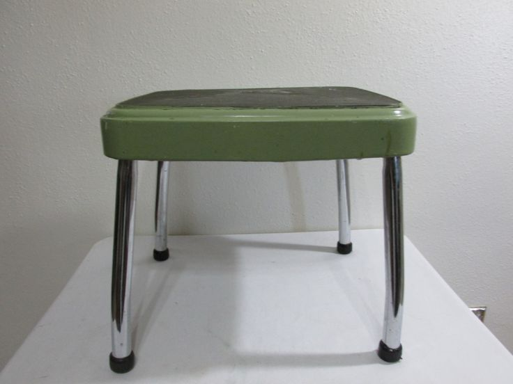 Beautiful Step Stool Metal Cosco By LuRuUniques On Etsy