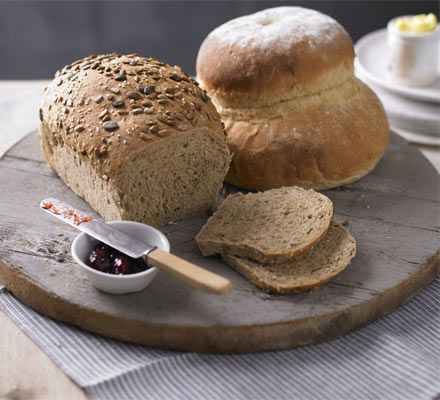 Baking homemade bread needn't be difficult - this recipe is easy to follow