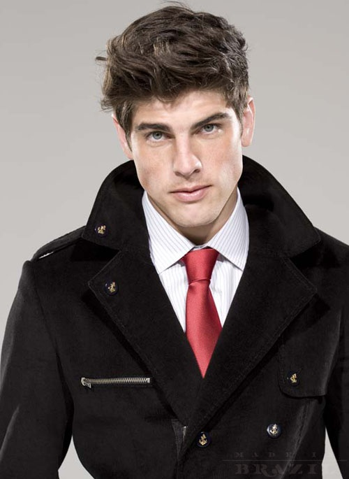 Evandro Soldati, because DAMN.  blue eyes + dark hair + freckles.