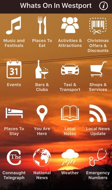 A new version of our free App has just been released on iTunes App Store and Google Play. Please download the latest version so you don't miss out on a single thing in Westport this Christmas. - http://ift.tt/1HQJd81