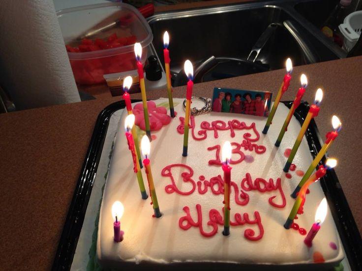 Finally a teenager ... Happy 13 th birthday Haley 8-10-2013