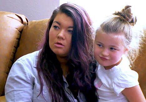 Teen Mom Photo from Season 5 (TM OG Season 1) Amber Portwood and her daughter Leah #amber #portwood #amberportwood #teen #mom #teenmom #mtv #16andpregnant