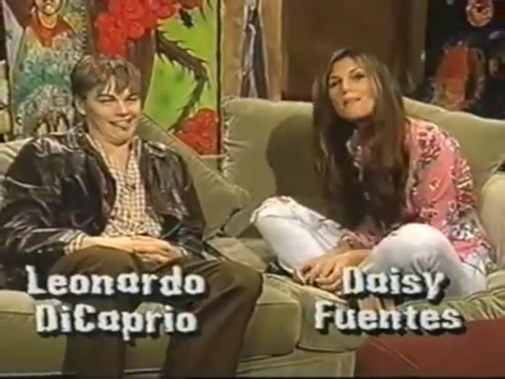 Leonardo DiCaprio interview with Daisy Fuentes