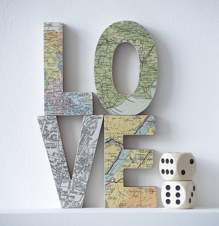 Love the idea of using a map on letters.. could be a fun craft.